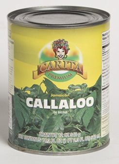 Carita Canned Callaloo